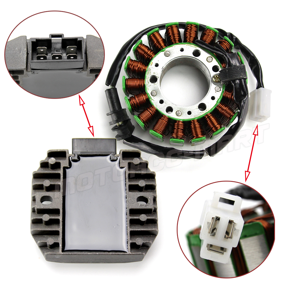 12v Regulator Rectifier Stator Coil Kit For Yamaha Yzf R1