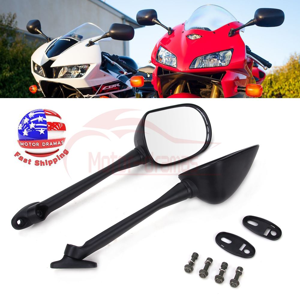 Details About Rearview Side Mirrors For Honda Cbr1000rr 2004 2007 2005 2006 Cbr600rr 2003 2018