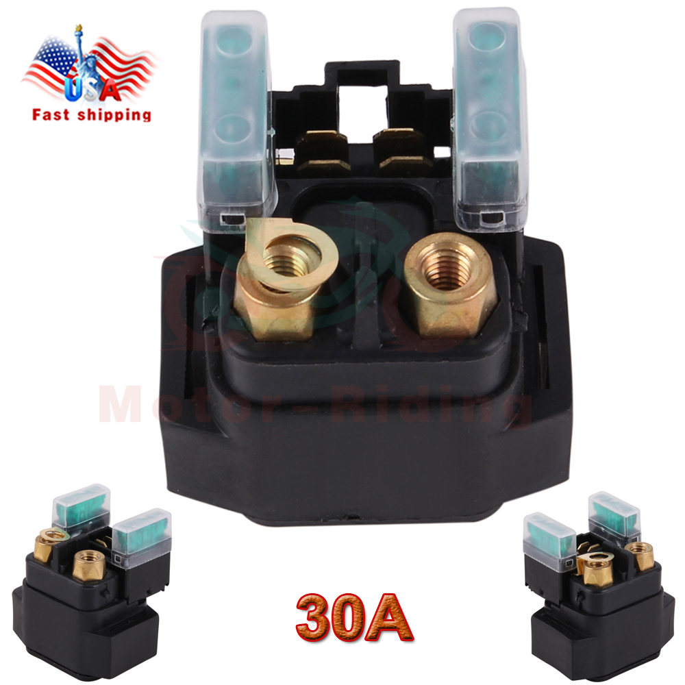 For Starter Solenoid Relay FITS YAMAHA GRIZZLY 660 YFM660 2002-2008 ATV TAO