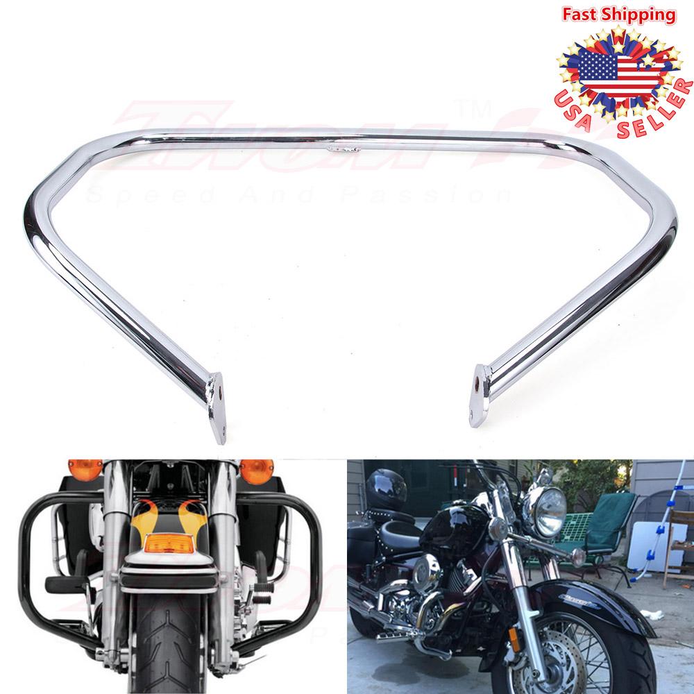 Engine Guard Crash Bar Highway Chrome For Harley Touring Glide FLHR FLHT 1997-08