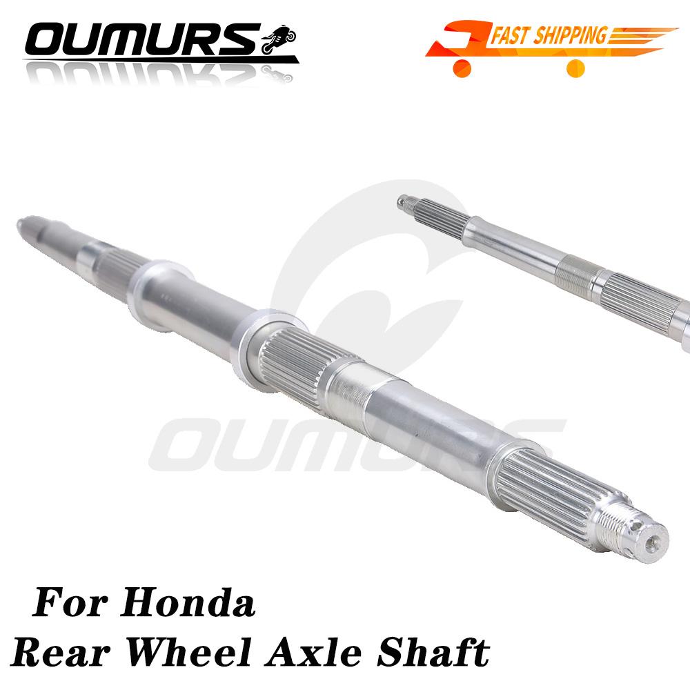 Rear Wheel Axle Compatible with Honda TRX 300 Fourtrax 1988 1989 1990 1991 1992 1993-2000