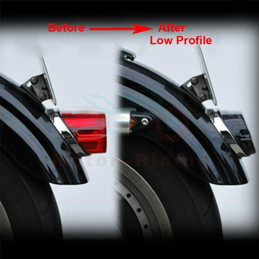 Led Rear Tail Light Brake For Harley Road King Dyna Glide Softail Sportster Fxdl