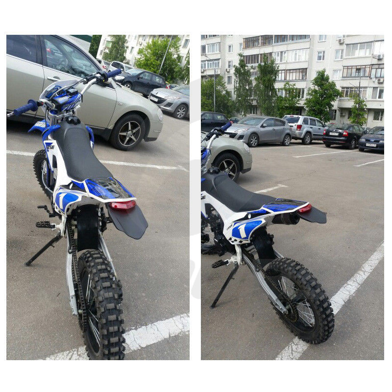12V Universal Dirt Bike Motorcycle LED Enduro Brake Rear Tail Light Off Road USA