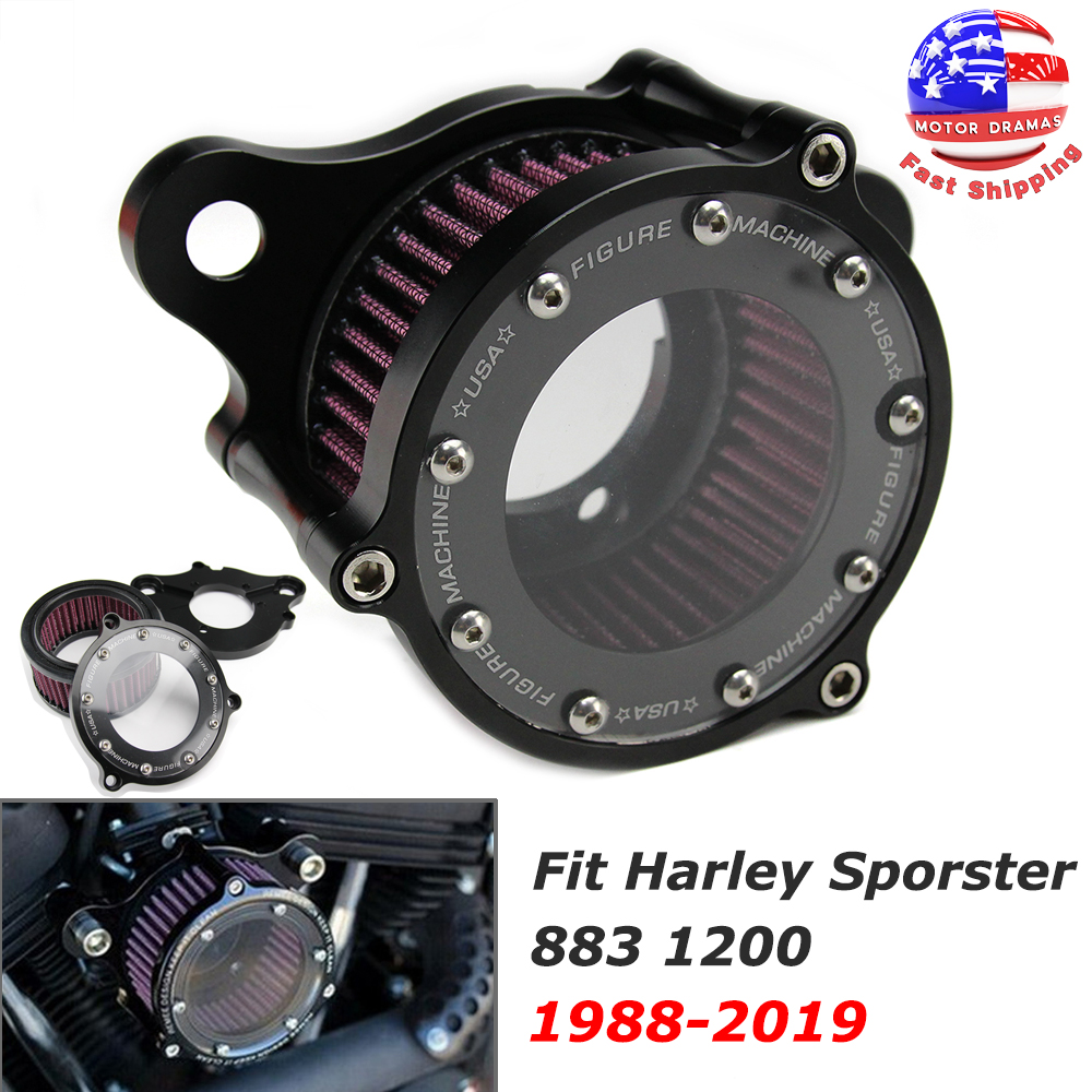 1200 Filtro de aire intake Harley Davidson Sportster 883 envío desde china Iron