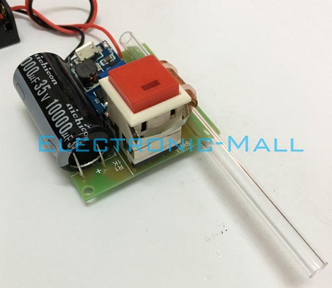 Electromagnetic Gun Scientific Experimental Model School Interest Study DIY KITS