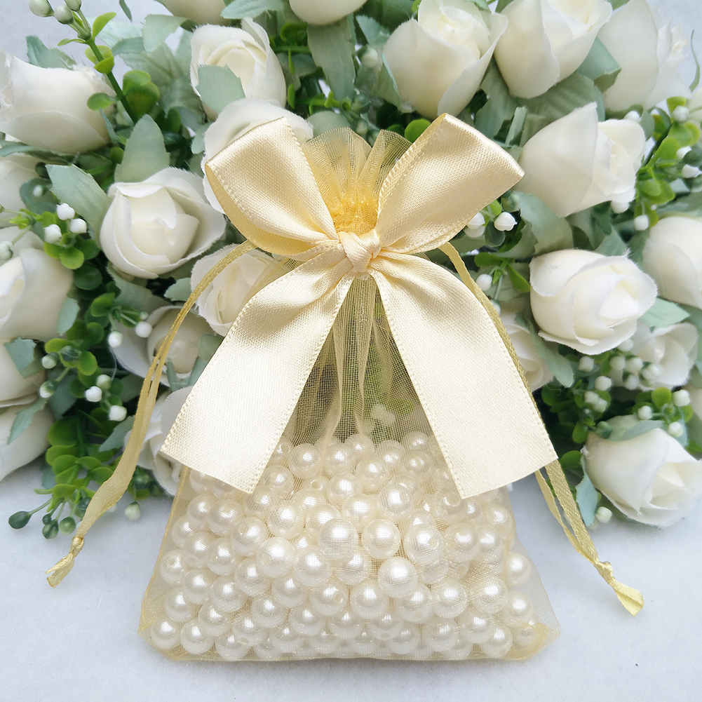 20pcs Organza Jewelry Candy Gift Pouch Drawstring Bags Wedding Party ...