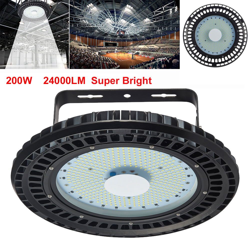 200W UFO LED High Bay Light Factory Warehouse Industrial