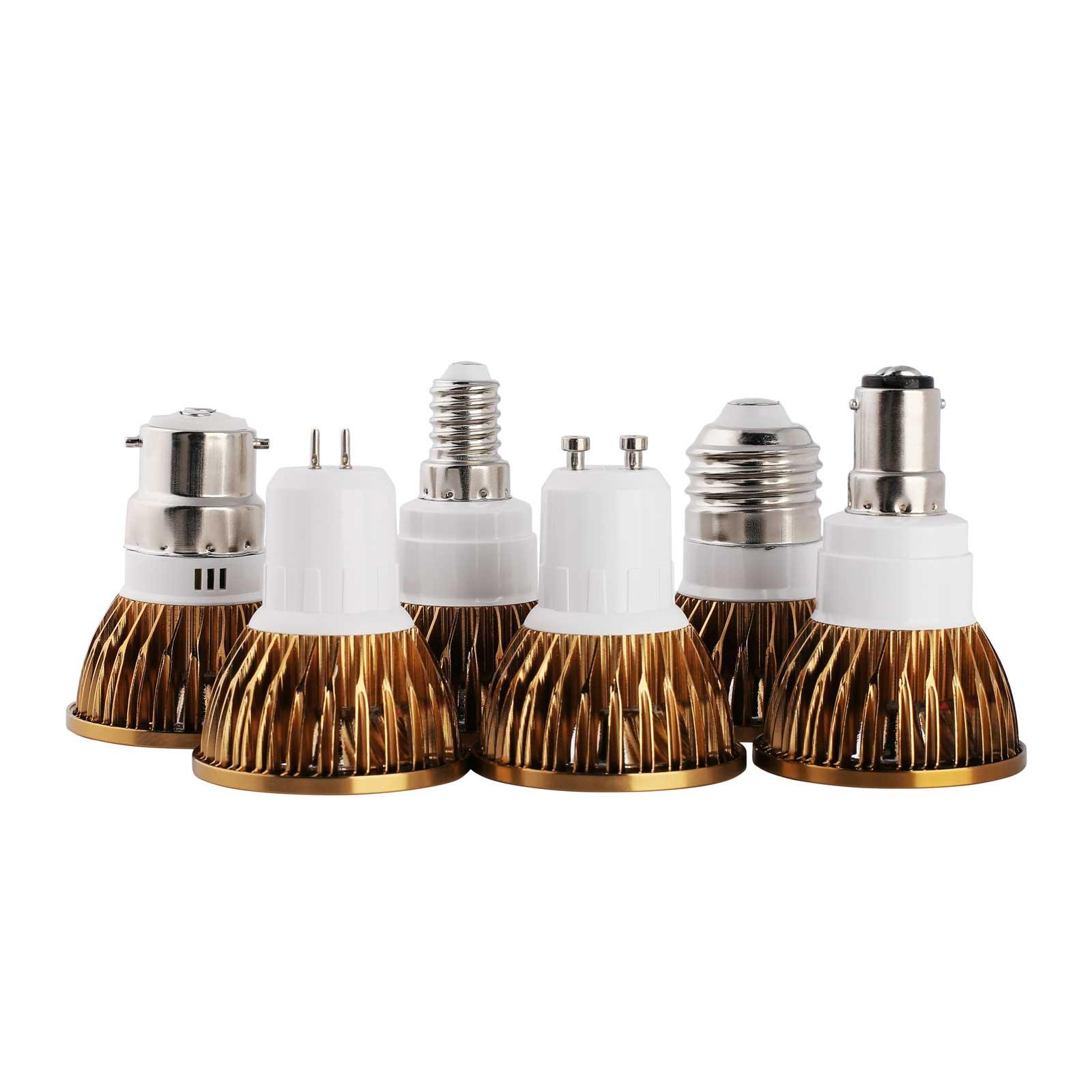 Dimmable Led Cob Spotlight E26 E27 Gu10 Gu5 3 Mr16 6w 9w: Dimmable LED COB Spot Lights Bulbs GU10/MR16/GU5.3/E27/E14