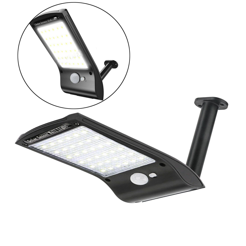 Details About Led Solar Wall Street Light Waterproof Outdoor Pir Motion Sensor Garden Lamp Ro