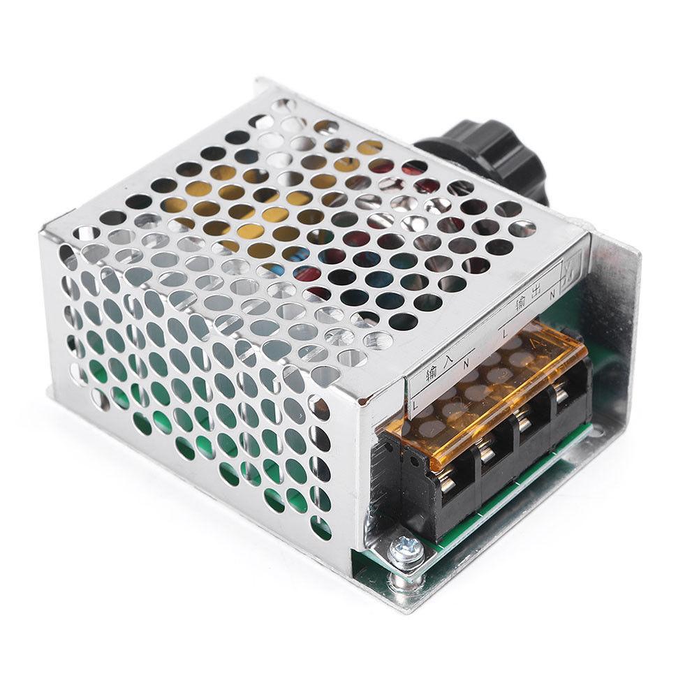 Spannungs Regler Dimmer Geschwindigkeitsregler Modul 4000W 220V Wechselstrom Neu