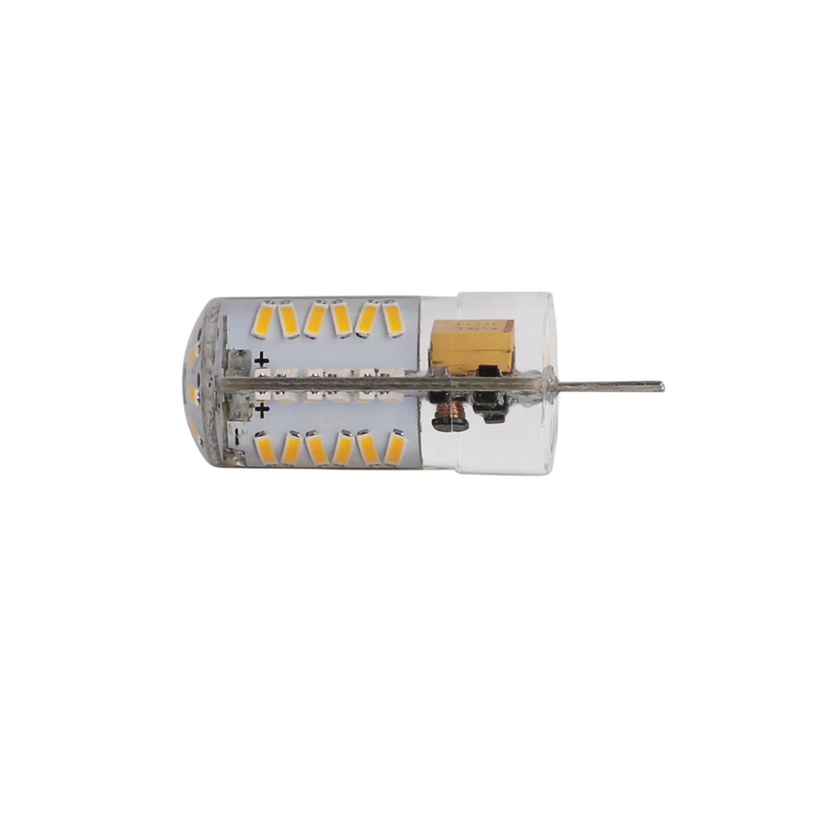 G4 LED Lampe en cristal 3014 SMD Silicone Ampoule de maïs 12V AC//DC 220V 3//5//9W