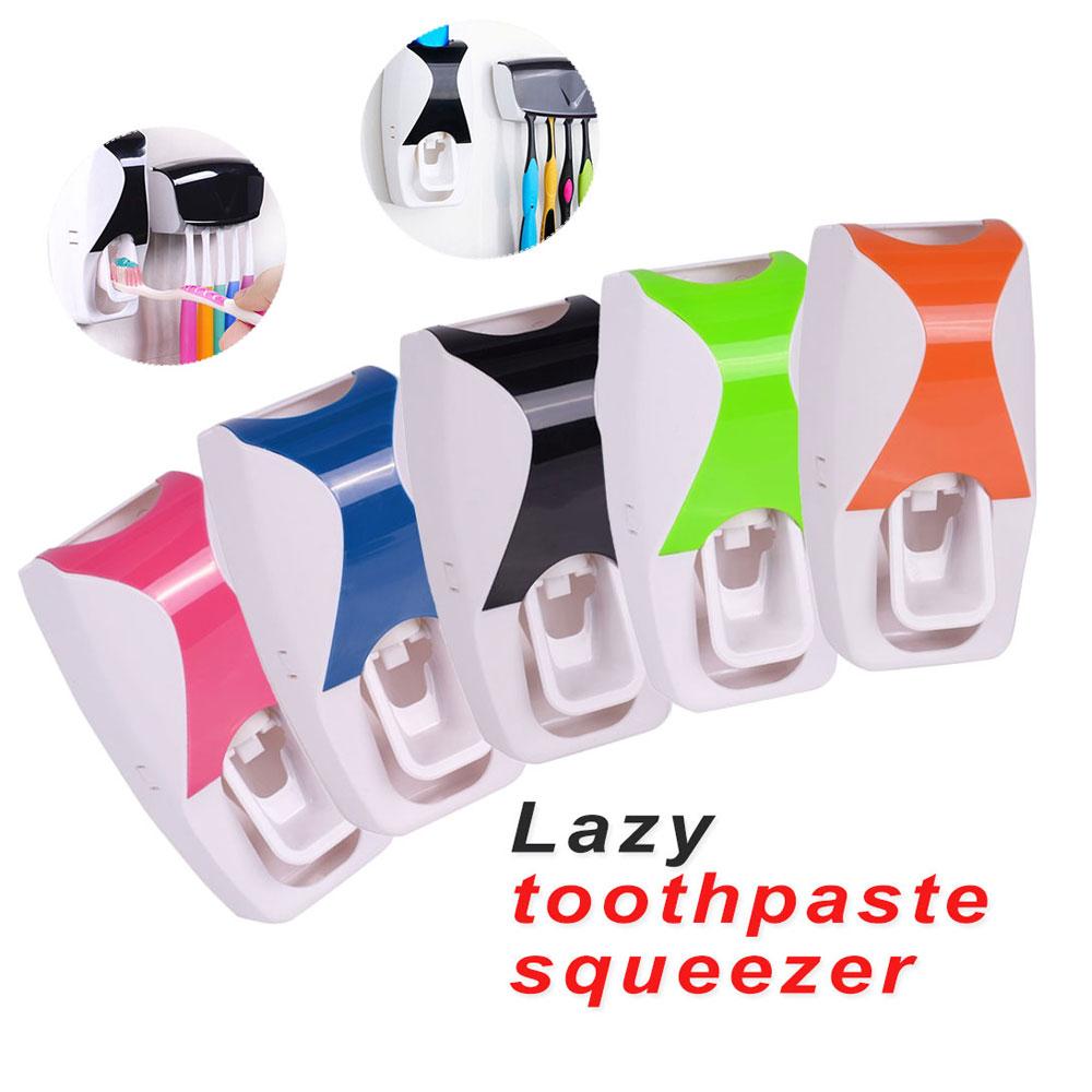 Fish Bone Shape Toothpaste Dispenser Home Bathroom Tool Peelers