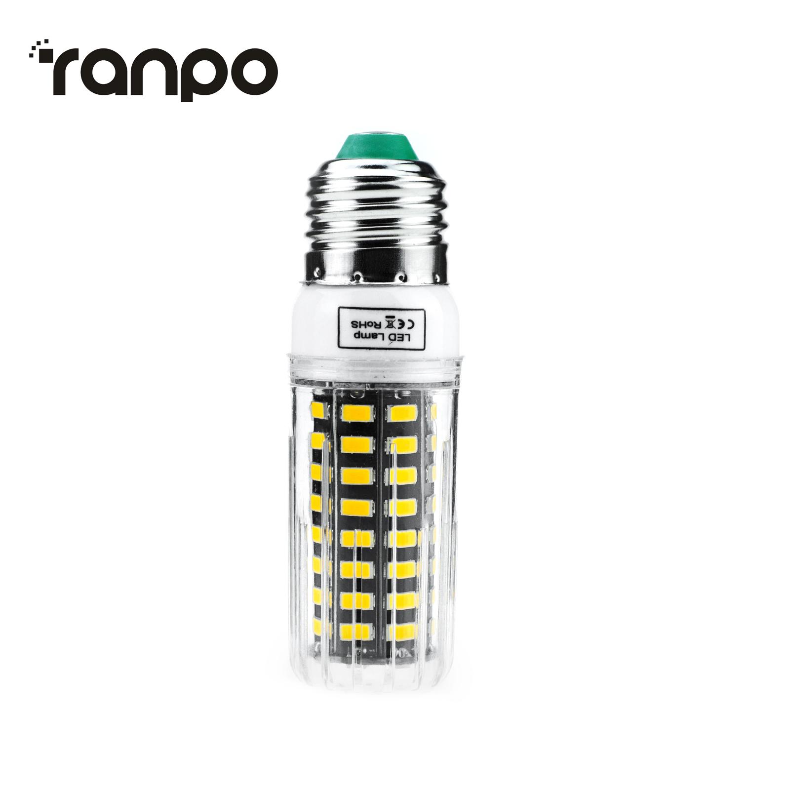dimmable e27 e14 led light corn bulb 5w 10w 15w smart ic