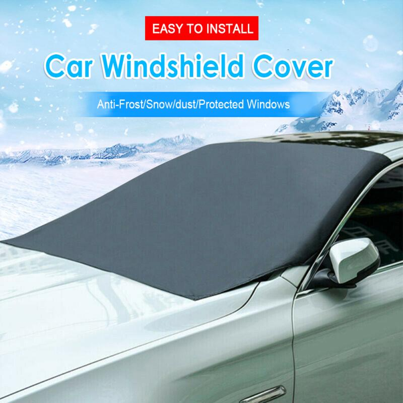 CAR WINDSCREEN PROTECTOR FROST SNOW ICE DUST COVER