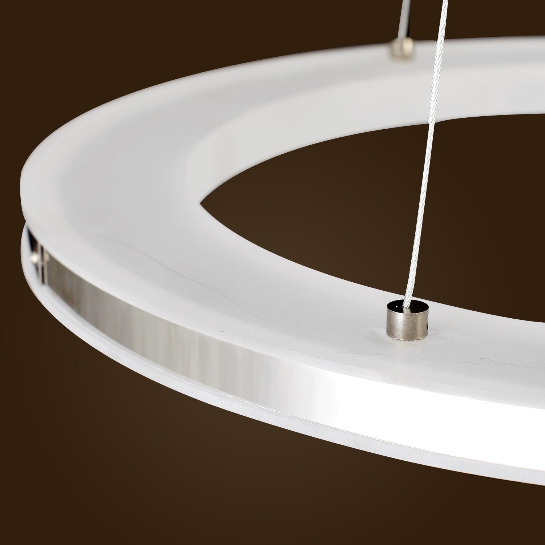 Modern 3 Tier Led Ring Chandelier Pendant Lamp Ceiling: Tier Ring Modern Pendant Lamp Chandelier Ceiling Light LED