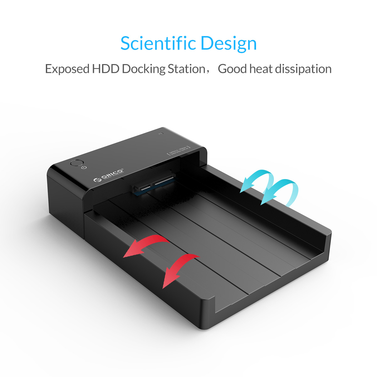 ORICO USB3.0 to SATA 2.5 & 3.5 inch HDD SSD Hard Drive Docking Station Enclosure 127
