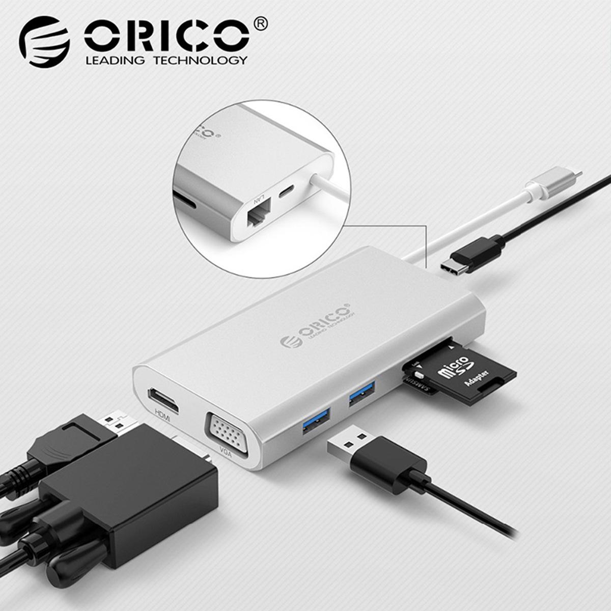 USB-C 3.1 To HDMI//USB3.0 Hub Dock Adapter for TV//Presentation//PPT Apple MacBook