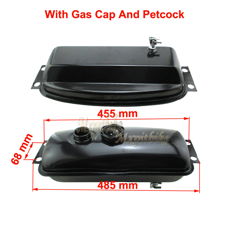 Fuel Gas Tank For 150fs 250fs Chinese 150cc 250cc Go Kart