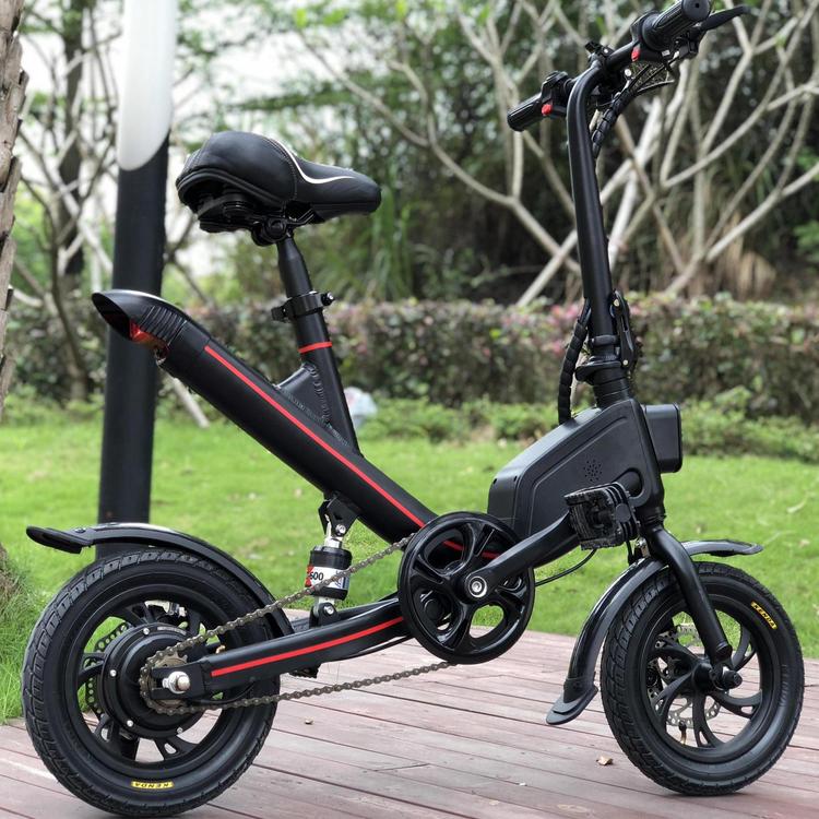 urspr ngliches 12 zoll rad faltendes elektrisches fahrrad. Black Bedroom Furniture Sets. Home Design Ideas