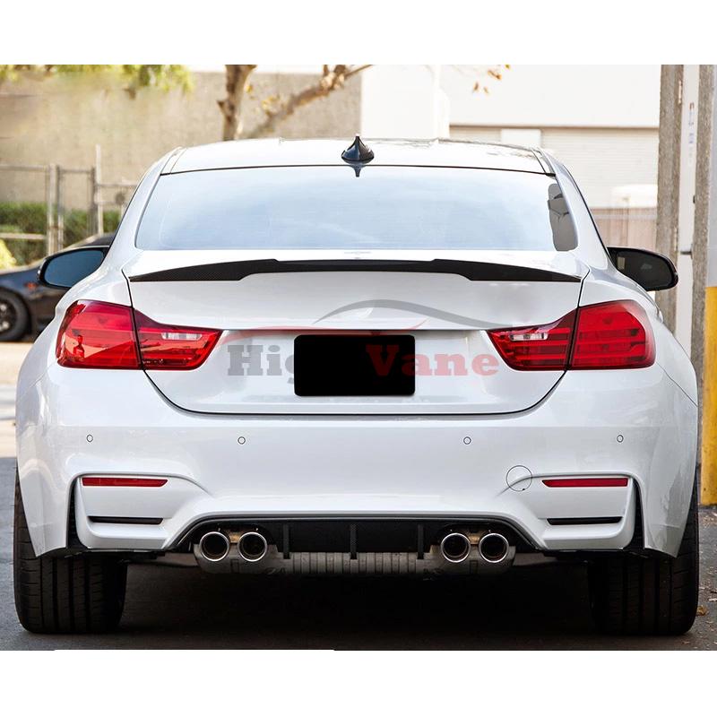 Carbon Fiber Rear Bumper Diffuser Fit For 2014-2018 BMW 4
