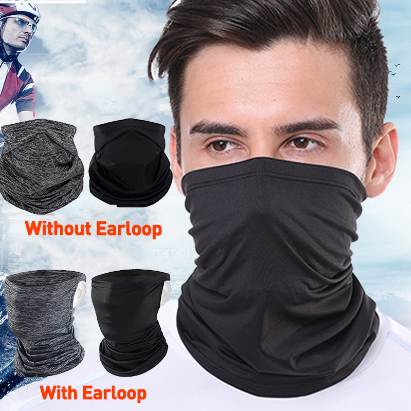 Cooling Scarf Neck Gaiter Face Mask Cover Bandana For Running Cycling Fishing US