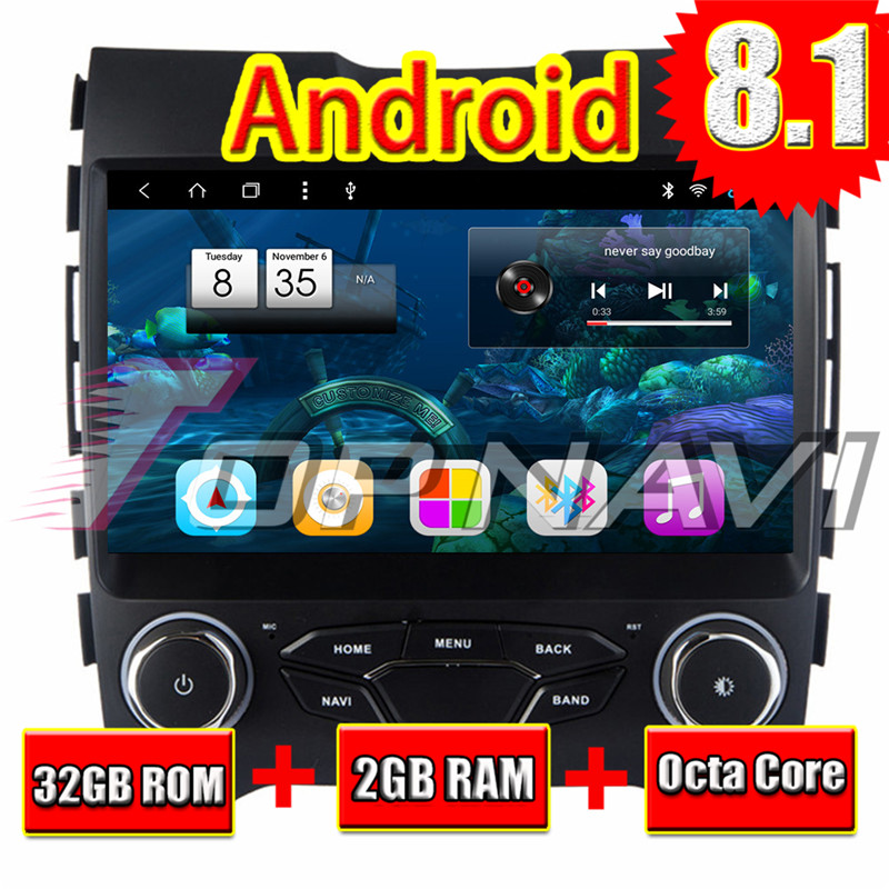 Details about Android 8 1 Car Radio Stereo For Ford EDGE 2015 Octa Core  Multimedia Player Unit