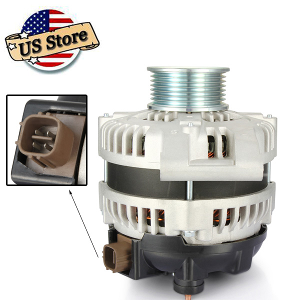 High Output Alternator Generator For 2003-05 Honda Accord
