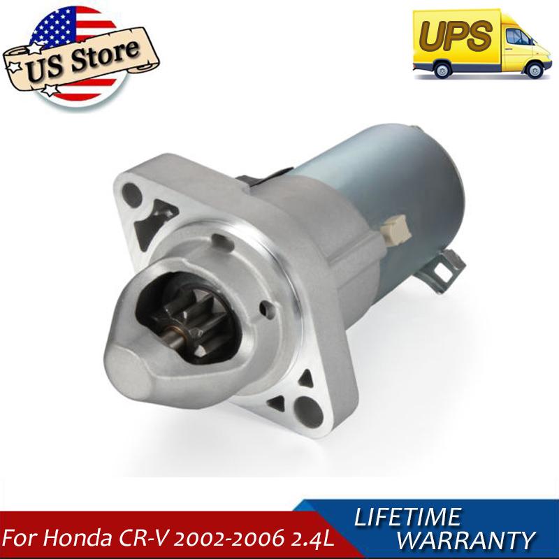 Starter NEW Honda CRV 2002 2003 2004 2005 2006 2.4L w// 31200PPA505 17844
