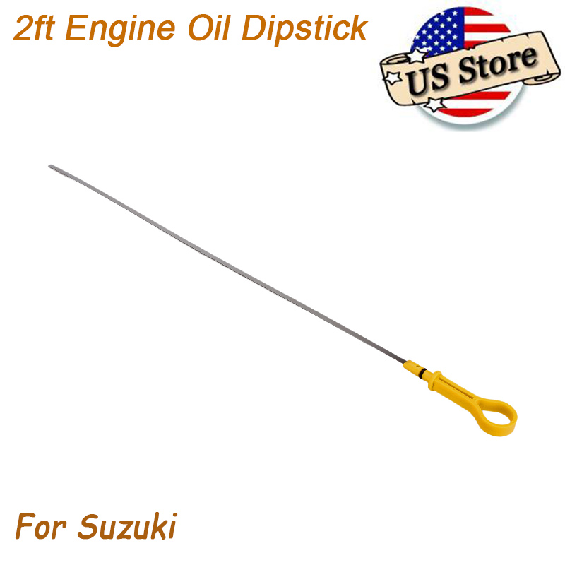Engine Oil Level Dipstick Motor Tool 60cm For Suzuki Vitara Tracker Esteem 99-04