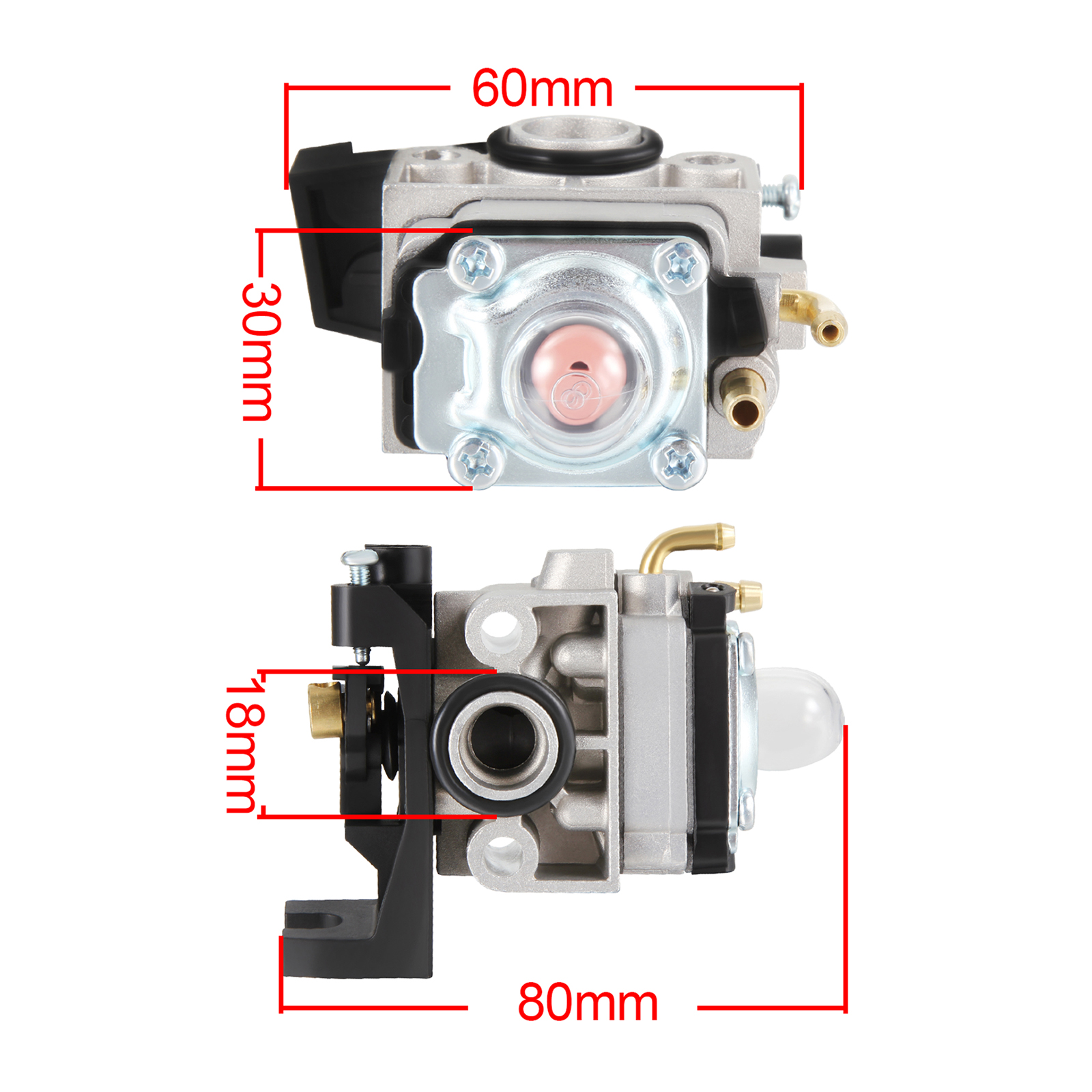 carburetor fits honda gx gx engine whipper snipper trimmer carburettor carby  ebay