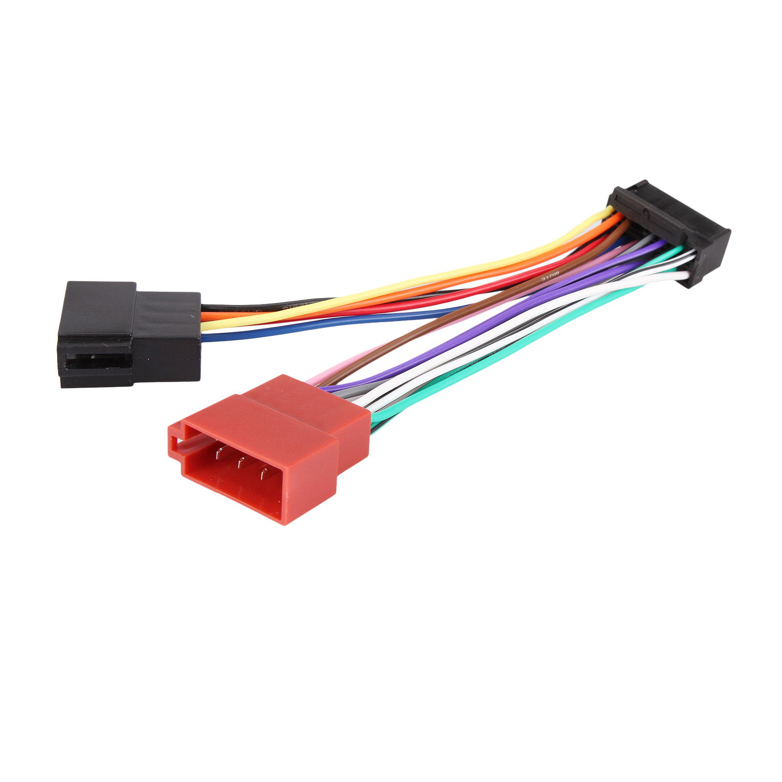 Iso Car Stereo Radio Wiring Harness Connector Adaptor Cable Loom Pioneer For 5800 Sony 16 Pin