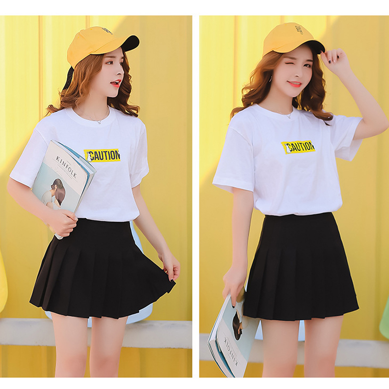 1e0ab327e Details about Xintianji Cute High Waisted Pleated Tennis Skirt Hot Various  Colours Puls Sizes