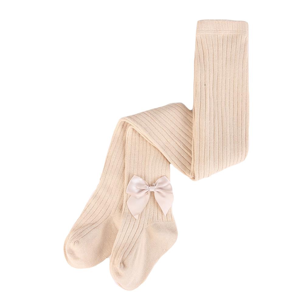 Baby Kids Girls Cute Bowknot Tights Pantyhose Elastic Soft Ballet Dance Pants