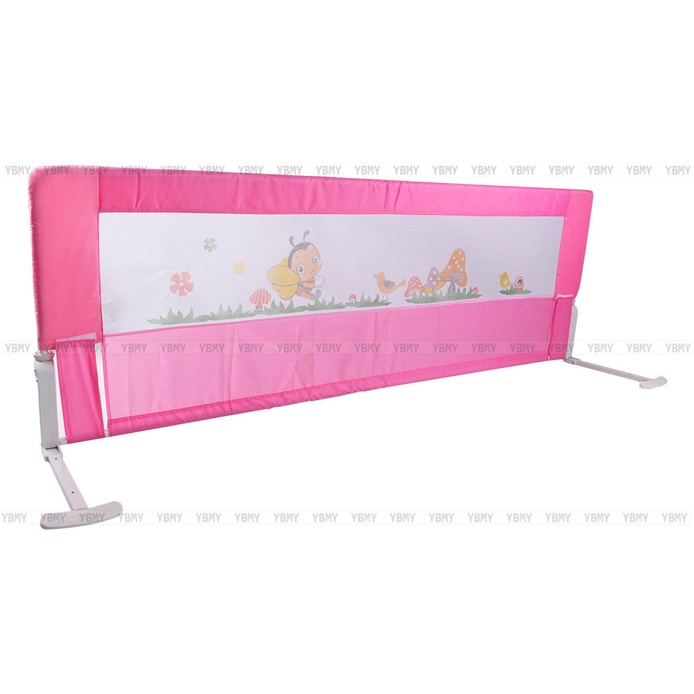 1x Child Safety Bed Rail Guard ProtectionPink Blue Imagepushauction 0 5e7c2e27
