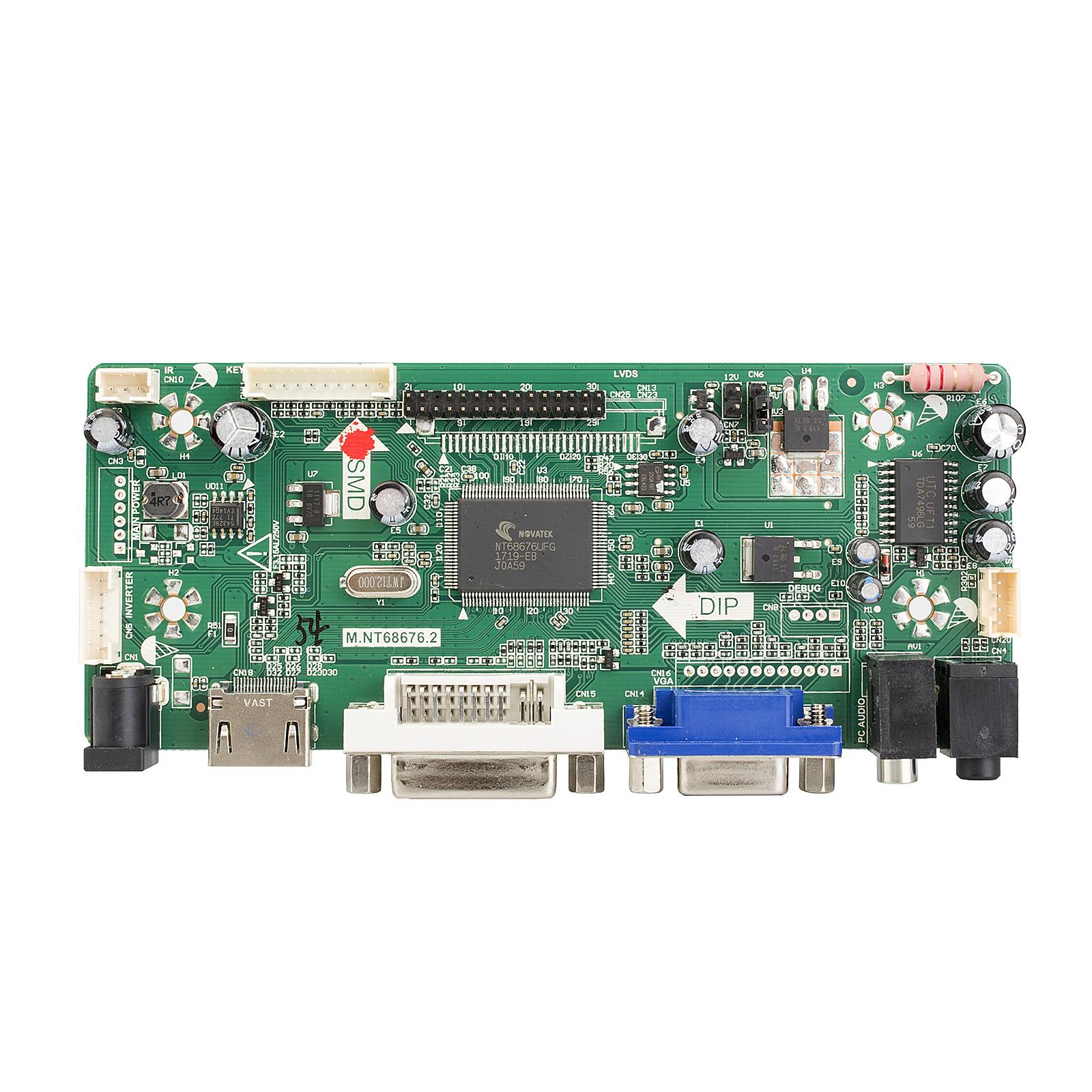 Mnt686762a Hdmi Dvi Vga Audio Lcd Panel Controller Driver Board To Adapter Schematic Description