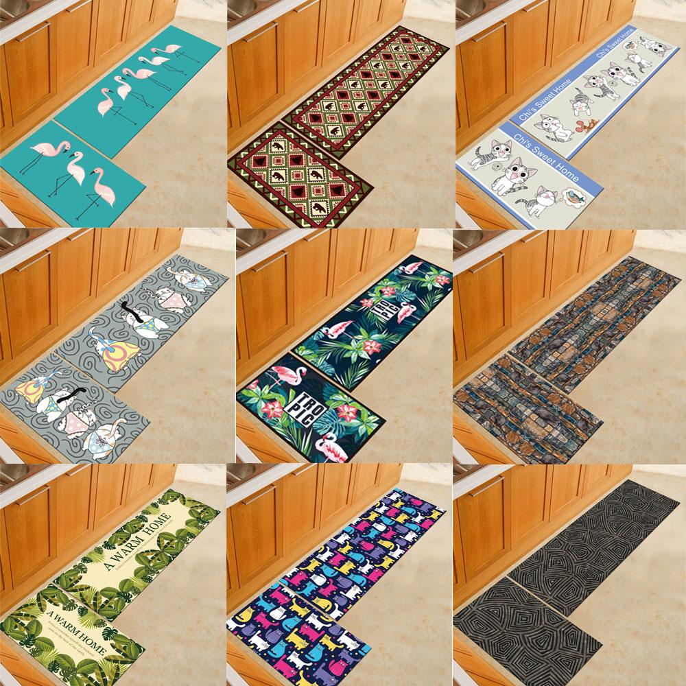 Teppich Küchenläufer Cartoon Läufer Küche Küchen-Teppich Fußmatte ...