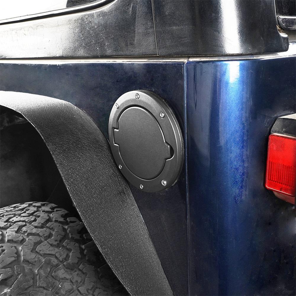 Us Aluminum Fuel Filler Door Gas Cap Tank Lid Cover Fit