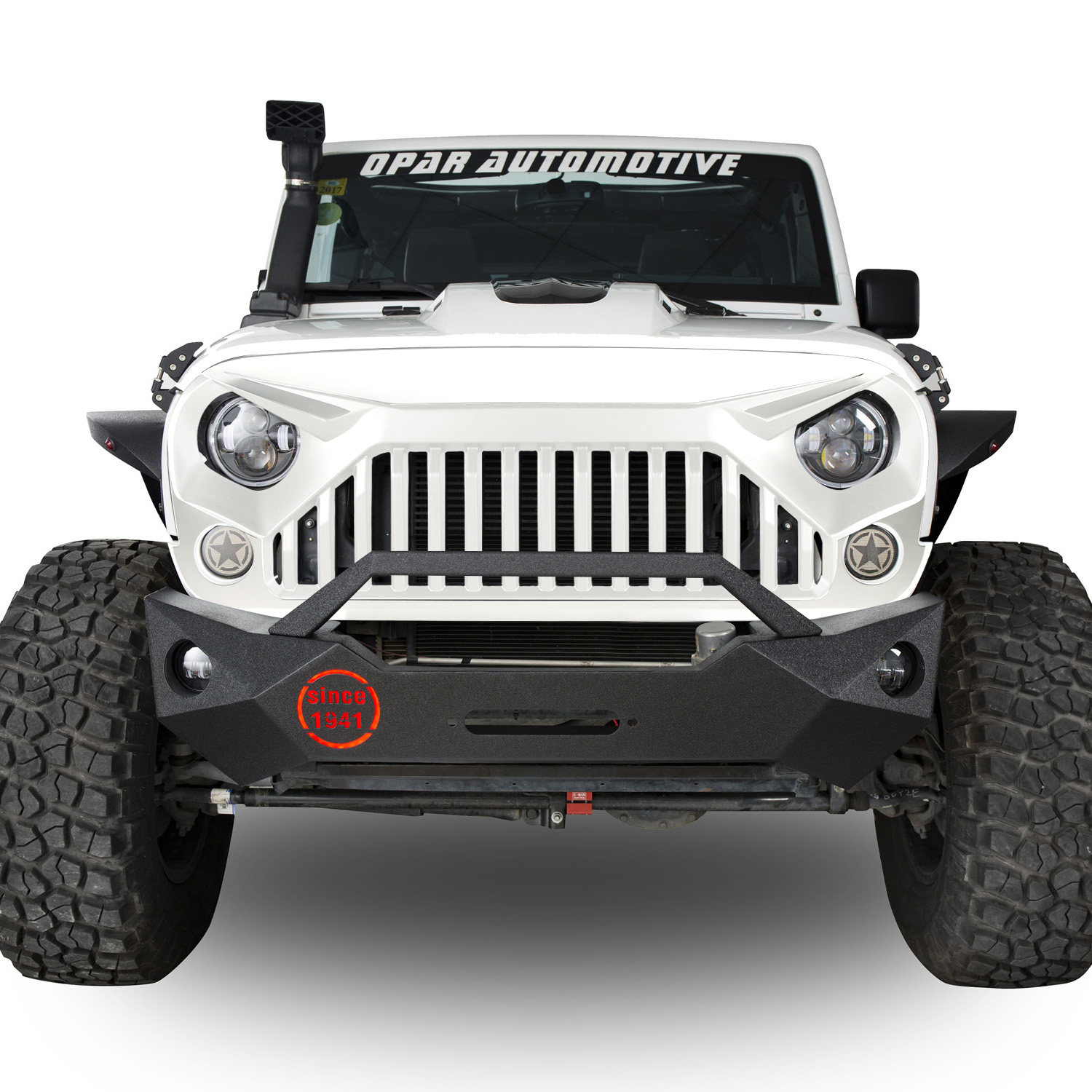 Full White Paint Angry Bird Front Grill Grille Grid For