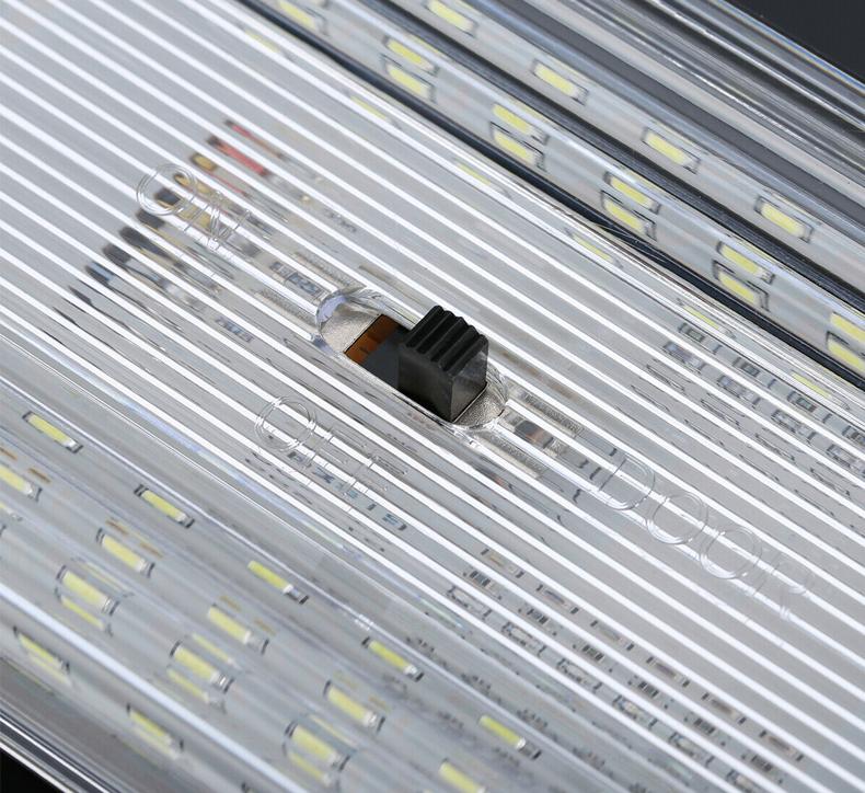2x Rv 12v White Interior Led Ceiling Lights Fixture Ceiling Camper Trailer Boat Ebay