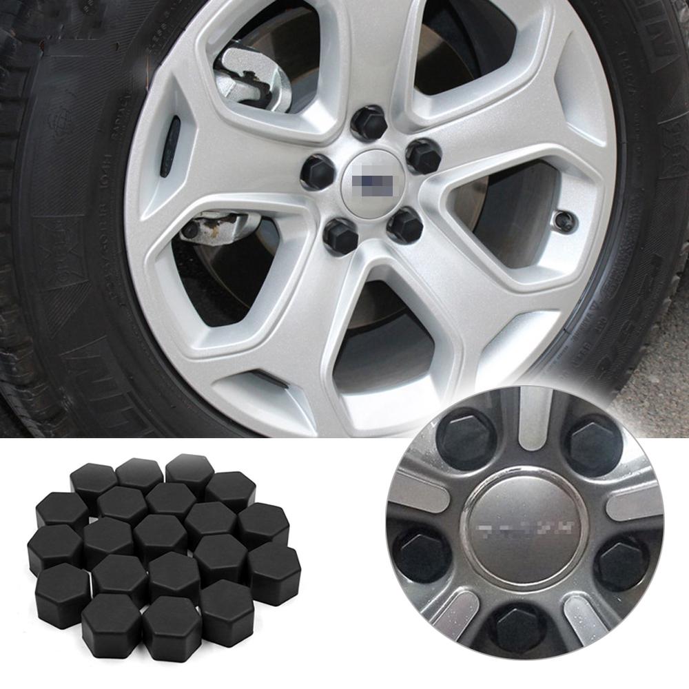 Dust Cap for Car 20pcs Alloy Steel Bolt In Silver Car Wheel Tyre Valves