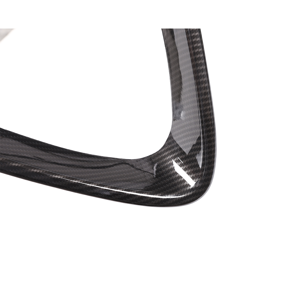 Carbon Pattern Front Lower Grille Cover Sticker For Alfa