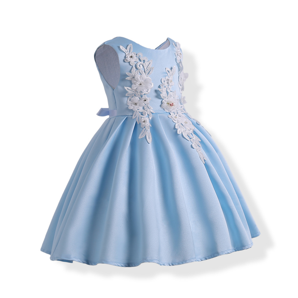 Kids Baby Girl Special Occasion Flower Party Wedding Gown Evening ...