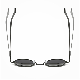 d2b59103f5 Men s Polarized Round Metal Frame Sunglasses Vintage Retro Sun Glasses  Eyewear