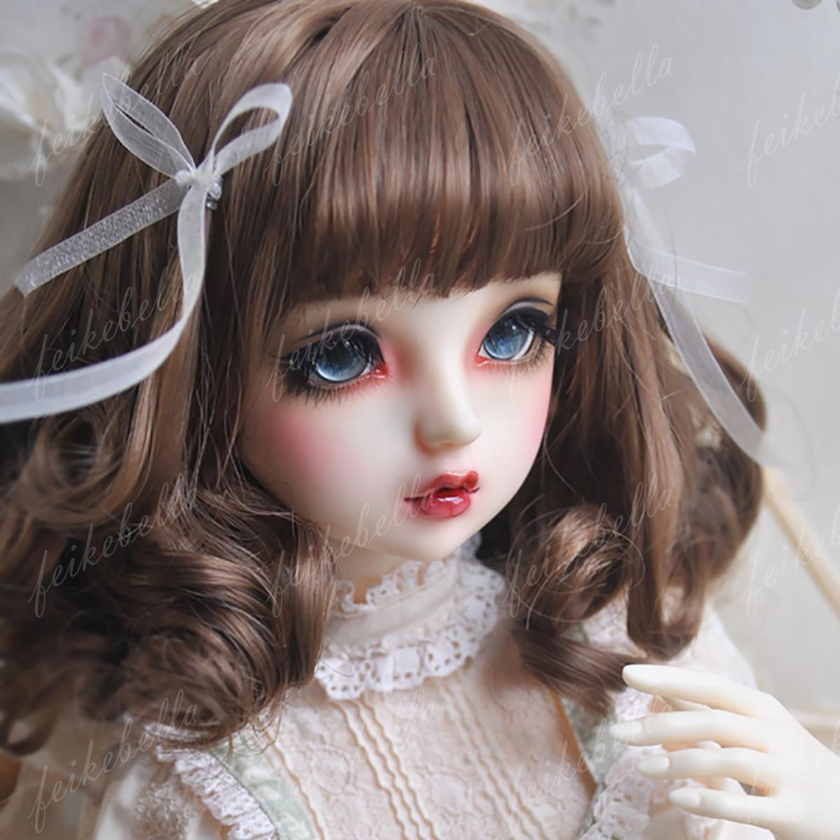 Face Makeup 1//4 BJD SD Dolls Pretty Girl Female 17/'/' Resin Bare Doll Eyes
