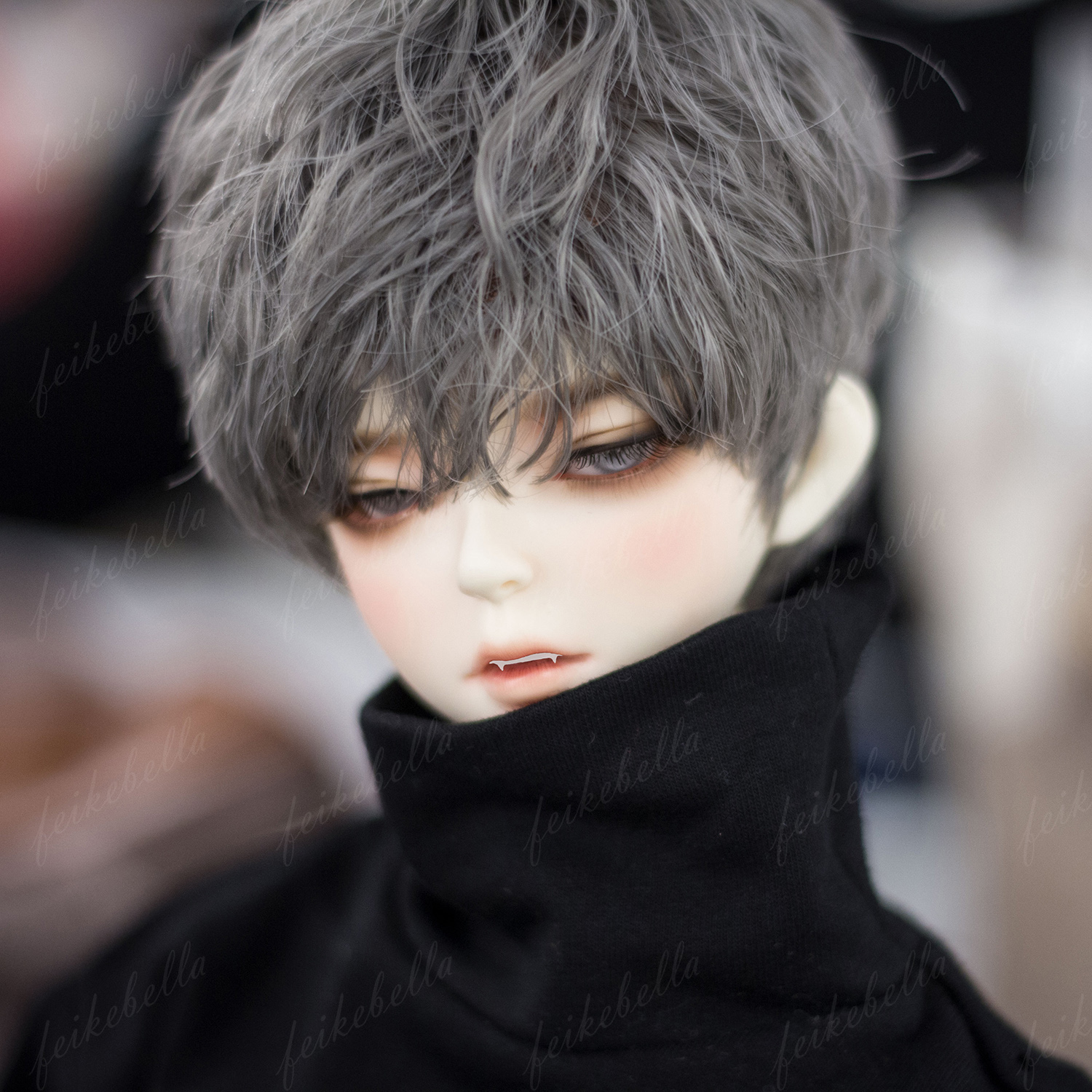 1//3 bjd doll  only head on the my eaby shop  without face make up