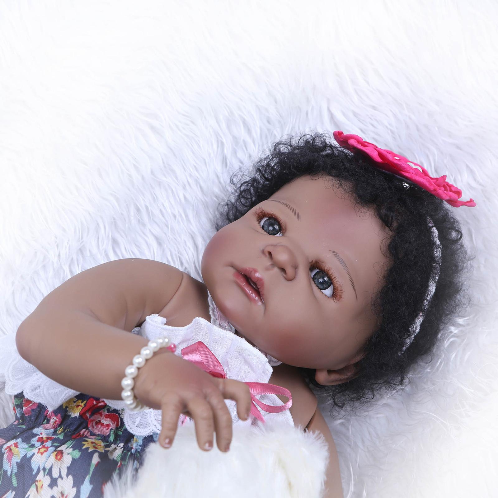22 Quot African American Reborn Baby Girls Lifelike Full Body