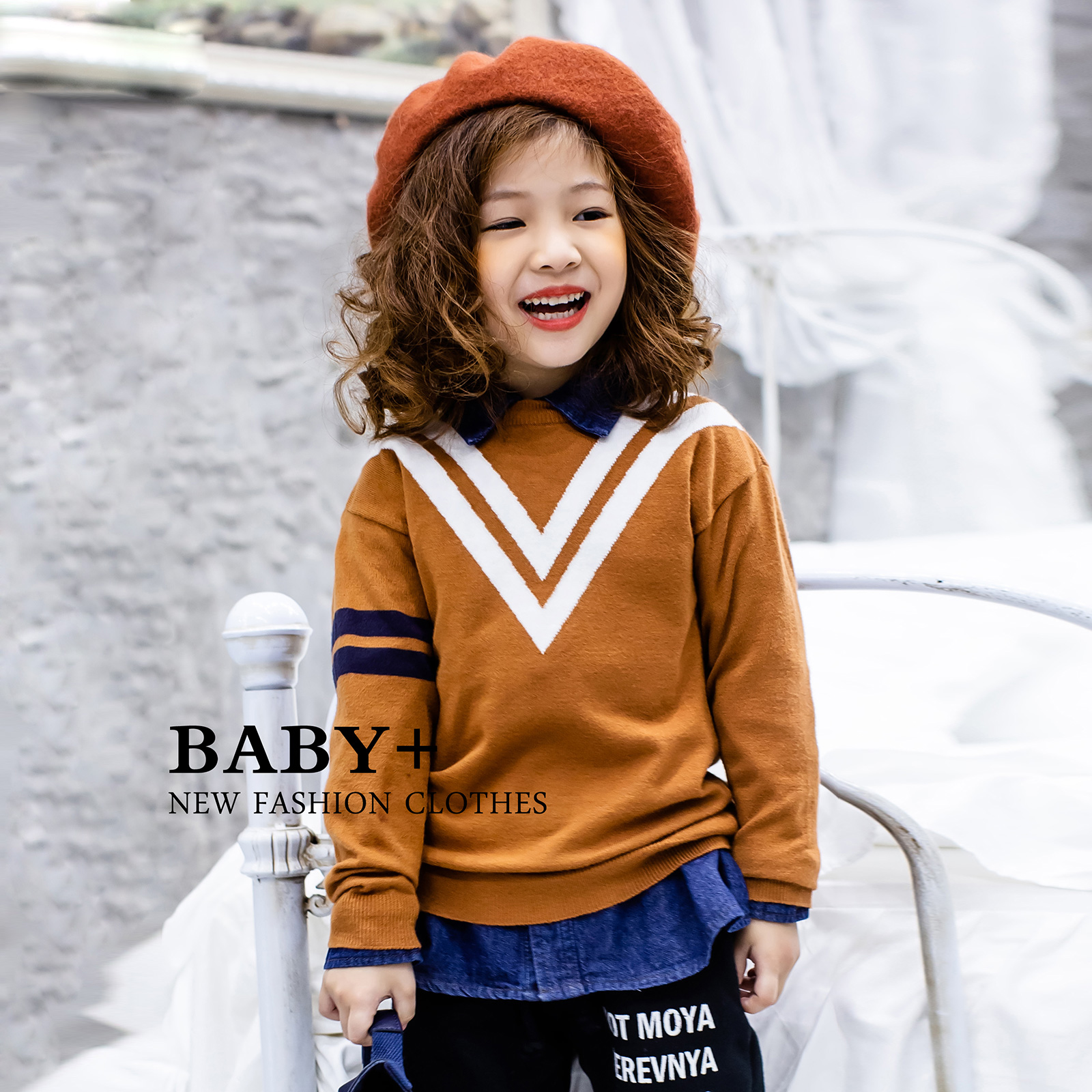 5863ae733 Baby Boy Girl Warm Soft Sweater Infant Kids Knitted Tops Sweaters Winter  Clothes