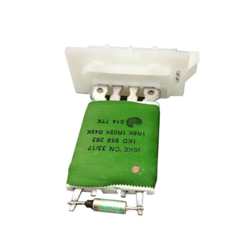 A C Heater Fan Blower Motor Resistor Regulator Fit For Vw Jetta Golf Mk5 Mk6 Ebay