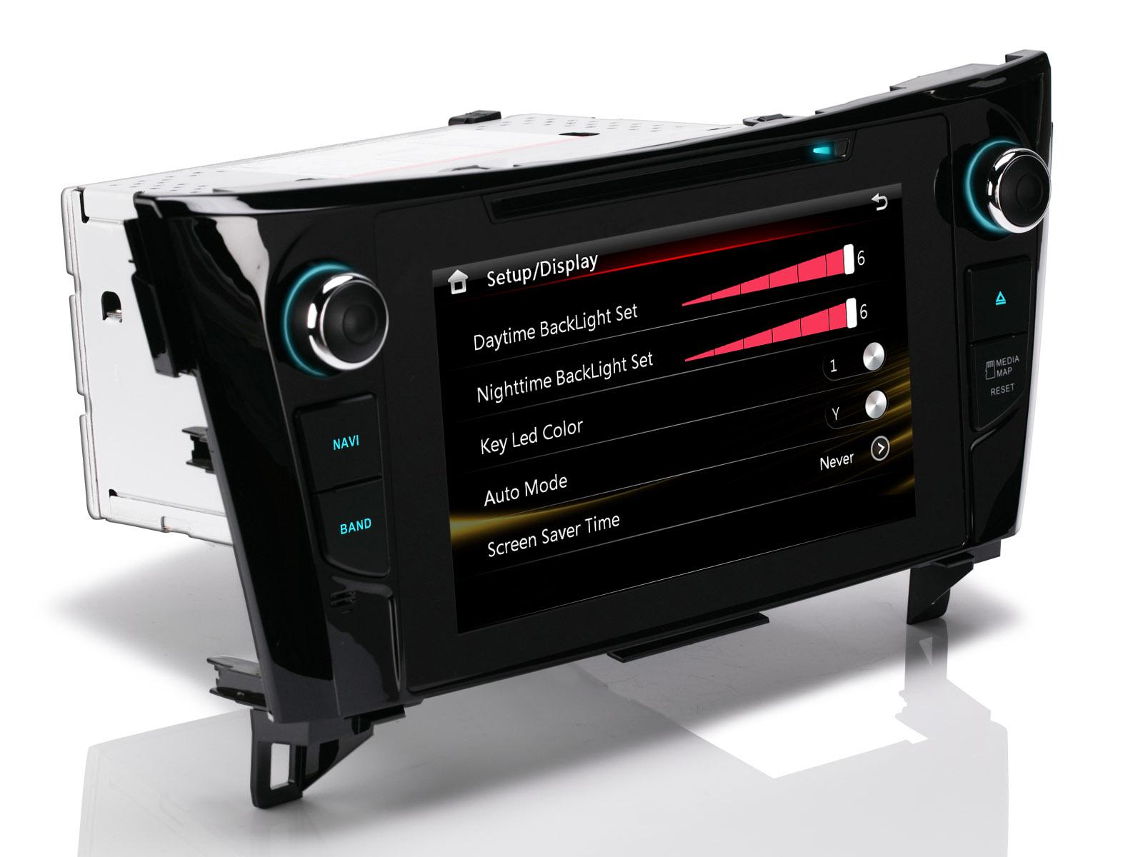 f r nissan qashqai j11 x trail t32 8 dvd gps autoradio. Black Bedroom Furniture Sets. Home Design Ideas