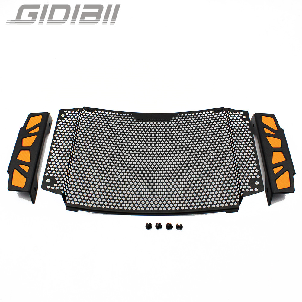 Black Motorcycle Accessories Radiator Grille Guard Cover For KTM Duke 790 2018